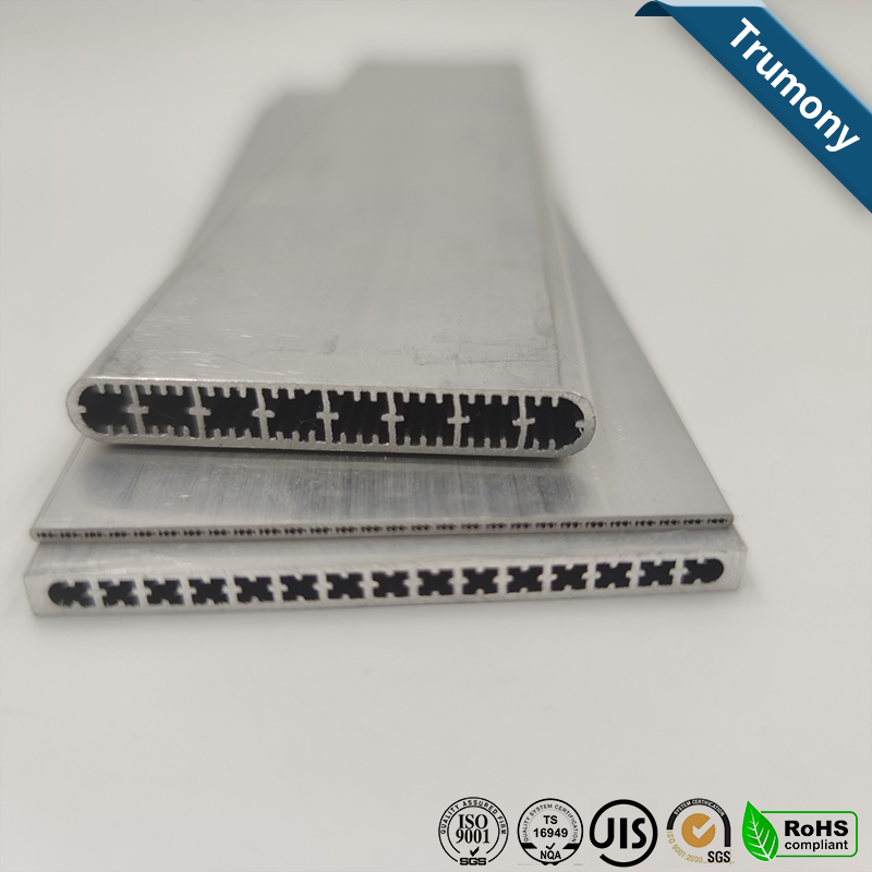 Aluminum Multi Port Channel Extruded Tube For Electric Cars
