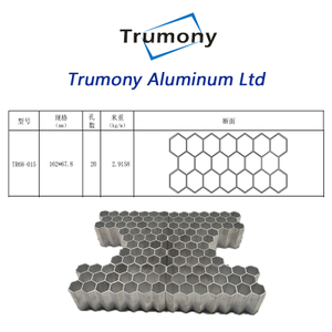 3003 heat transfer Aluminium Alloy multi channel MPE tube