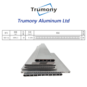 3102 heat exchanger Aluminum multiport tube