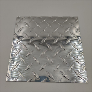 3003 Diamond Corrugated Aluminum Sheet for Wing Van
