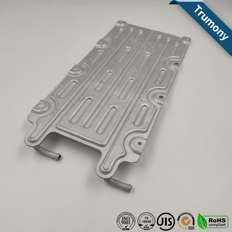 EV Car Soft Battery Used Water Coolant Cooling Plate