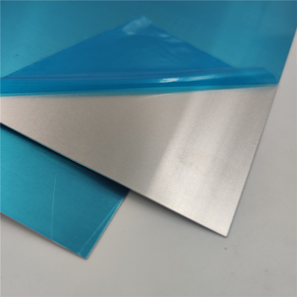 Factory Customized Aluminium Aluminum Plain Flat Plate with PE Film One Side